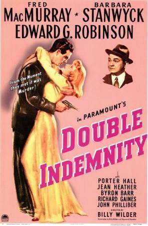 Double Indemnity - Poster