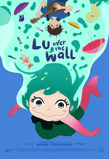 Lu Over the Wall - Poster
