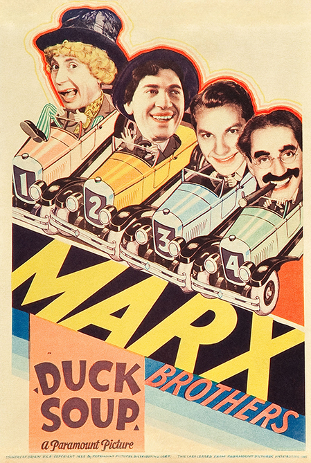 Duck Soup (1933) - Poster