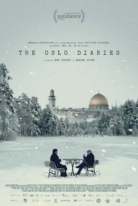 The Oslo Diaries - Poster