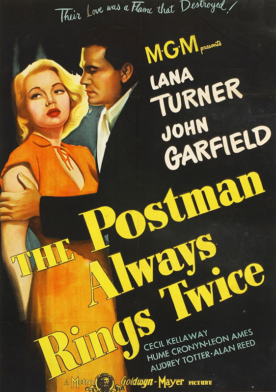 The Postman Always Rings Twice - Poster