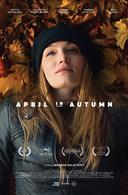 April in Autumn - Poster