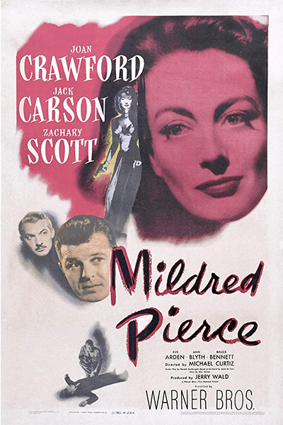 Film Noir Series 2020: Mildred Pierce (1945) - Poster