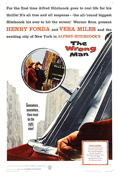 Film Noir Series 2020: The Wrong Man (1956) - Poster