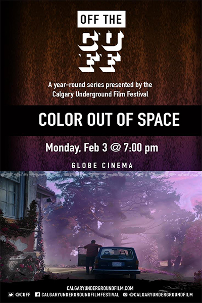 Color Out of Space - Poster